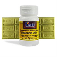 Gold Liquid Shine Natural Food Color By TruColor 1.5 Ounce
