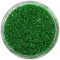 Sanding Sugar GREEN 2 oz 4 oz 6 oz Cupcake Ice Cream Sprinkles Cake Cookie