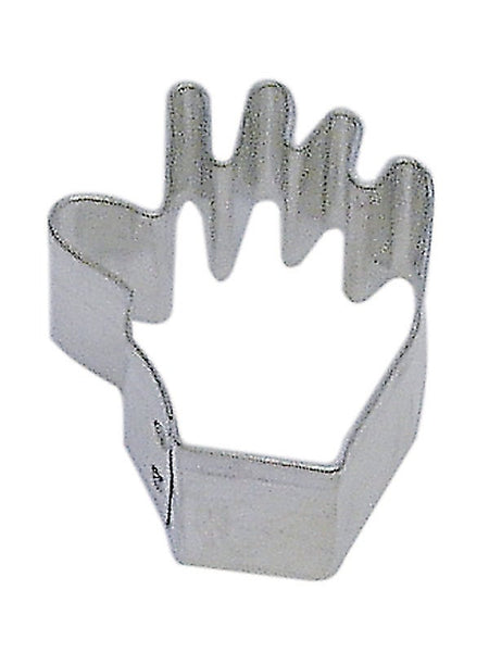 "Mini Hand 1.75"" Cookie Cutter - Hand Fingers Nails"