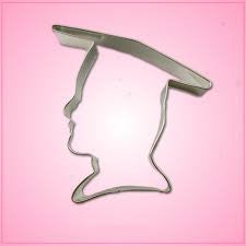 "GRAD BOY 3.5"" Cookie Cutter"