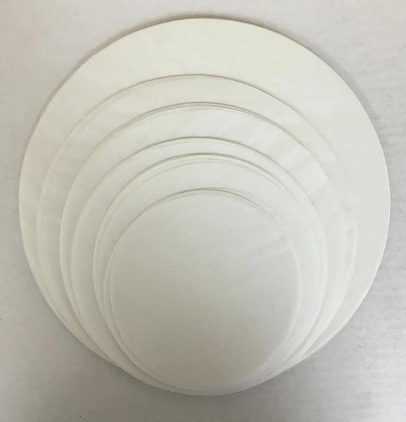 "Parchment Circles Master Set of 144 (6"", 7"", 8"", 9"", 10"", 12"") - 24 of each size - Cake Pan Liners"