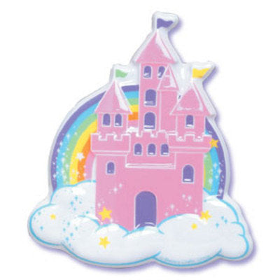 Enjoyable Fairy Castle Cake Topper Crown Bakery Supply Funny Birthday Cards Online Inifofree Goldxyz
