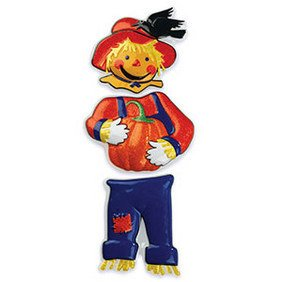 Scarecrow Pop Top - Cake Plaque Pick Topper Give Thanks