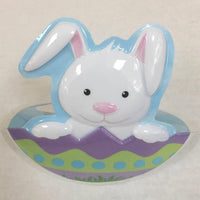 "Easter Bunny Pop Up 5"" Cake Lay On - Cake Plaque Pick Topper Easter Spring"