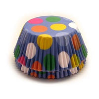50 Wilton Baking Cups Dazzling Dots - Cupcake Liners