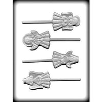 Angel Hard Candy Lollipop Mold (3 Designs / Sizes)