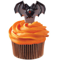 Wilton Bat Candypick Chocolate Mold - Cupcake Picks Halloween