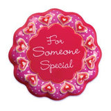For Someone Special Cake Pop Top - Cake Plaque Pick Topper Valentine's Day
