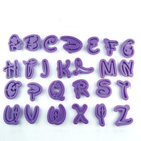 Alphabet & Number Set DISNEY Type Uppercase 36 Piece Set