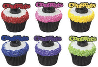 12 Congrats Cupcake Picks - Graduation College High School Kindergarten