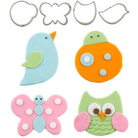 Flutter Friends Cookie Cutter Set