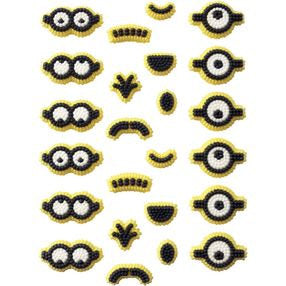 "24 Minions Icing Decorations 1.25"" - Despicable Me Pixar"