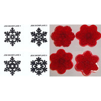 Angel Snowflakes Fondant Cutter Set