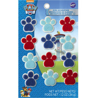 12 Paw Patrol Icing Decorations - Edible