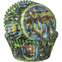 "50 Teenage Mutant Ninja Turtles Cupcake Liners Cups 2"" - Nickelodeon"