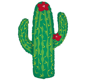 "41"" Cactus Balloon - Saguaro cacti Party Taco Bout a Party Fiesta Desert"