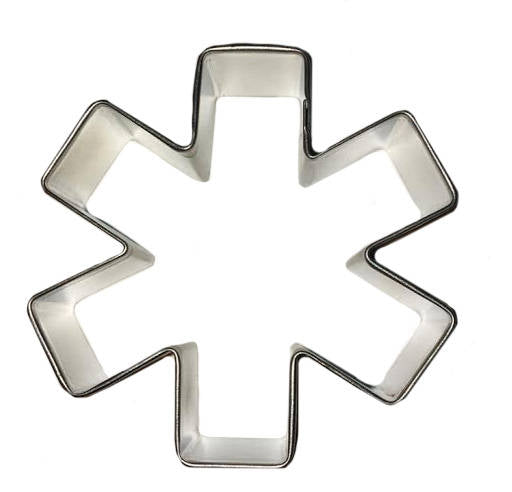 "Asterisk / Medical Symbol 3"" Cookie Cutter - hashtags jimmy fallon Social media Facebook Instagrem Twitter Texting Typing"