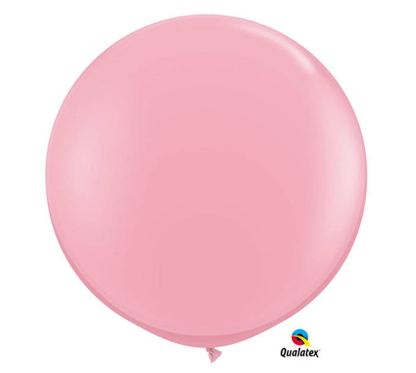3' Qualatex Pink Balloon (2 pack) - Wedding Reception Engagement