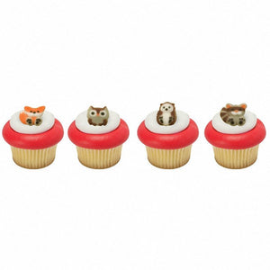Woodland Animals Assortment Edible Decorations - SugarSoft Sugar Soft Celebration Cake Decorating