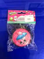 Shopkins Cup Cake liners 50 count
