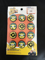 Minions Icing Decorations 12 pk