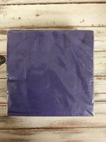 Purple lunch napkin 50 count