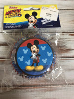 MICKEY AND THE ROAD RACERS CUPCAKE LINERS 50 count
