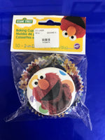 Sesame Street Elmo 50 count cup cake liners