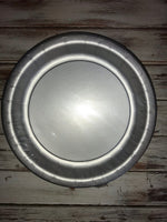"Shimmering Silver 7"" plates 24 count"