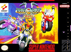 Biker Mice From Mars (Super Nintendo, SNES) - Reproduction Video Game Cartridge with Universal Game Case - CrebbaTECH