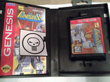 The Punisher (Sega Genesis / Megadrive) - Reproduction Cart with Clamshell Case and Manual - CrebbaTECH