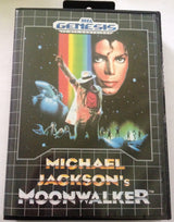 Michael Jackson's Moonwalker (Sega Genesis) - Reproduction Game w/ Clamshell Case & Manual - CrebbaTECH