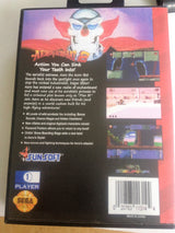 Aero the Acro-Bat 2 (Sega Genesis / Mega Drive) - Reproduction Video Game Cartridge with Clamshell Case and Manual - CrebbaTECH