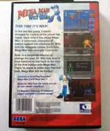 Mega Man: The Wily Wars (Sega Genesis / Mega Drive) - Reproduction Video Game Cartridge with Clamshell Case and Manual - CrebbaTECH