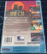 The Adventures of Batman and Robin (Sega CD) - Reproduction Game - Universal Game Case w/ Full Color Inserts, Manual & Disc Print - CrebbaTECH