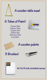 Fine Art Kit with Instructional Video