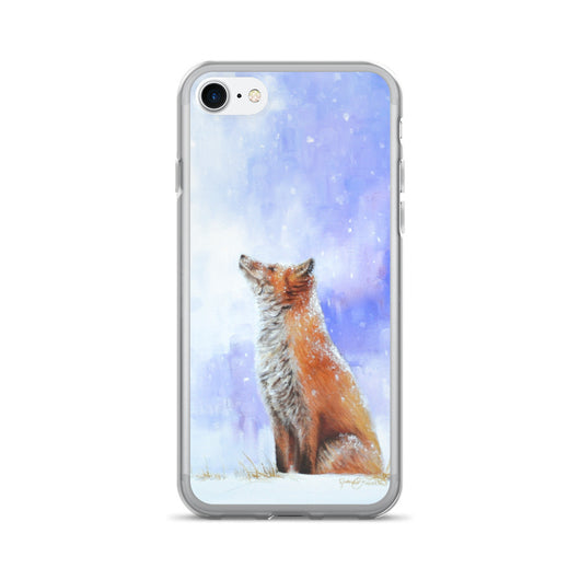 iphone case phone fox james corwin wildlife art apple