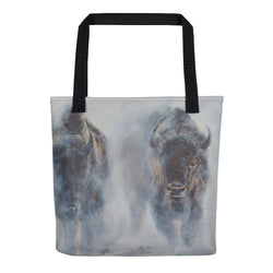 Giants in the Mist - Tote bag