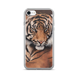 tiger iphone case apple by james corwin fine art wildlife artist