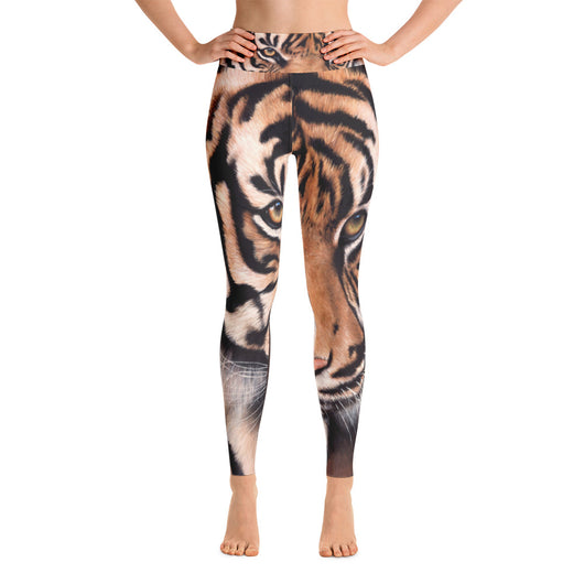 Satu Kuat Tiger Yoga Leggings