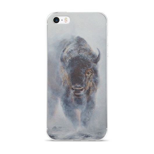 iphone case phone bison james corwin wildlife art apple