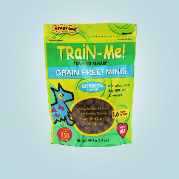 Crazy Dog Train-Me Grain Free Mini Treats