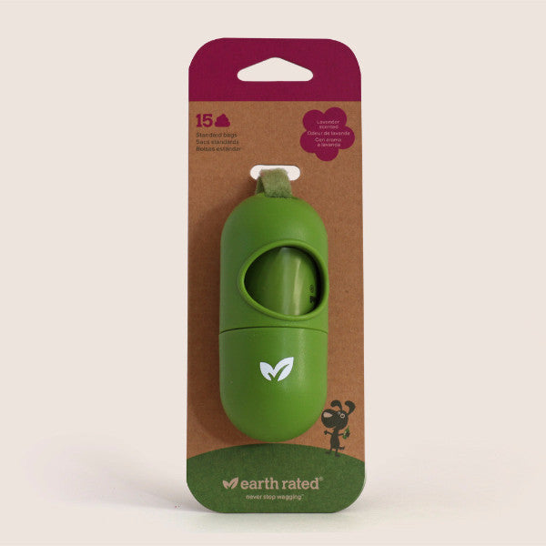 Earth Rated PoopBags Dispenser with Bags (15 ct)
