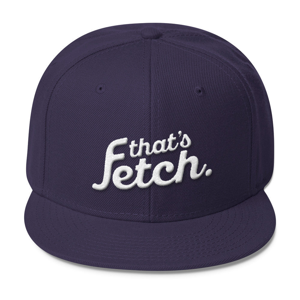 That's Fetch Wool Blend Snapback (Navy)