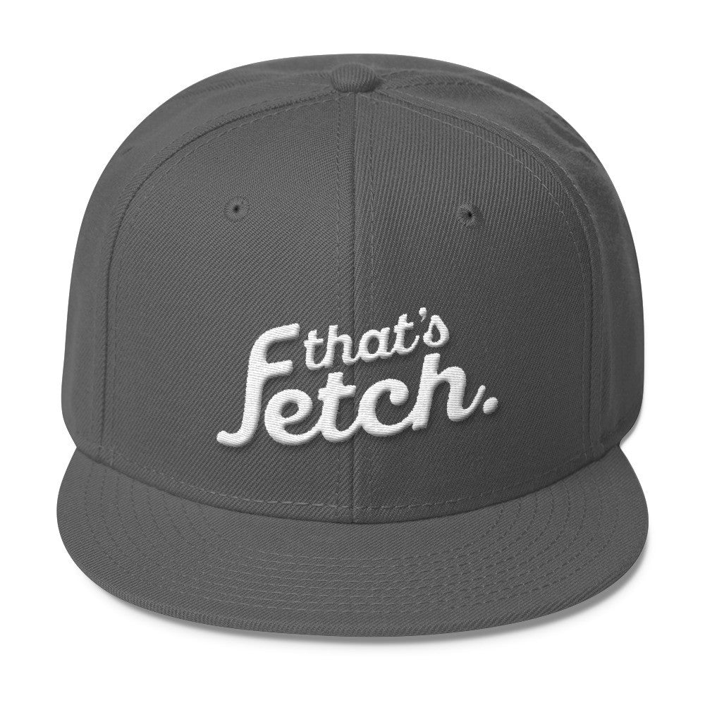 That's Fetch Wool Blend Snapback (Gray)