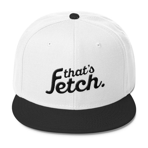That's Fetch Wool Blend Snapback (Black)
