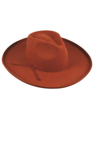 Autumn Panama Hat (Rust)