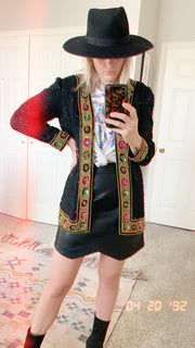 Vintage Embellished Jacket