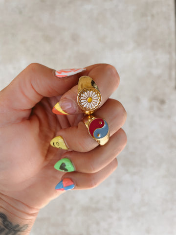 FLOWER CHILD CHUNKY RING