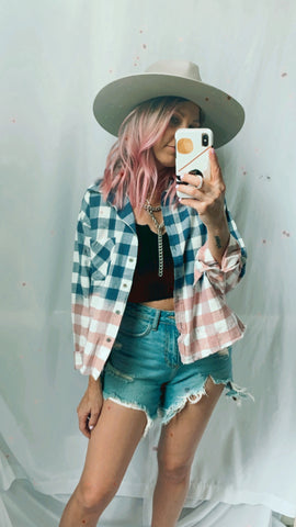 NEED IT OMBRE PLAID